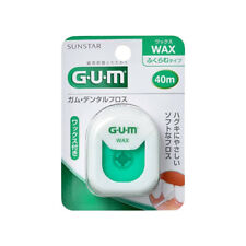 SUNSTAR GUM DENTAL FLOSS - Wax Type  40m New