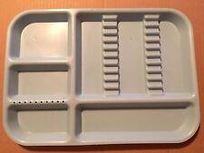 Divided Dental Organizer Tray Size B Plastic Instrument Autoclavable Piece