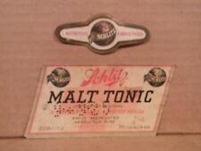 Schlitz Malt Tonic 1/2% Alcohol 7 Oz. Beer Label-Schlitz,Milwaukee,W is 316-47