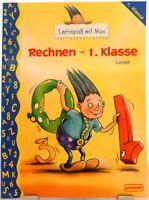 Rechnen 1.Klasse + Lernspaß mit Max + Mathematik Nachhilfe Orig. Pestalozzi /62