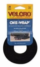 Velcro Reusable Self-gripping Cable Ties - Tie - Black - 25 Pack (91141_40)