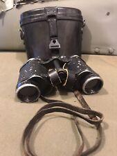German Heer Luftwaffe DDX 6x30 Dienstglas Binoculars with Case, Target Grid