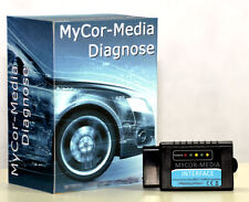 Spezial Bluetooth Interface  CAN-BUS OBD2 Diagnose  für Volvo + Apps u. Software