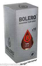 Bolero DRINKS – Kola - 12 Beutel Instant Getränkepulver für 18 Liter