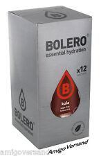 Bolero Drinks – Kola - 12 BUSTINA Instant bevanda rinfrescanti per 18-36 LITRI