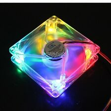1pcs 92mm 12V 3/4Pin Colorful LED 92x25mm 25mm DC Computer Cooling Exhaust Fan