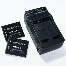 New Battery / Charger For Canon PowerShot SX400IS,SX410IS,SX420IS Digital Camera