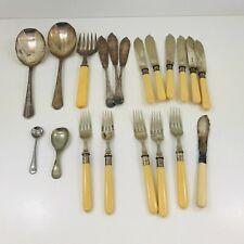 Bundle Mixed Random Vintage Cutlery EPNS