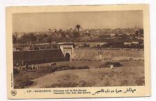 marrakech , panorama pris de bab-khemis
