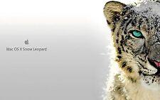 Usb 8GB backup OS X Snow Leopard Installa Aggiorna 10.6 24h consegna
