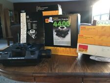 Kodak Carousel 4400 Slide Projector WITH ORIGINAL BOX AND INSTRUCTIONS