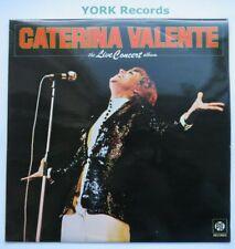 CATERINA VALENTE - The Live Concert Album - Ex Con LP Record Pye NSPL 18484
