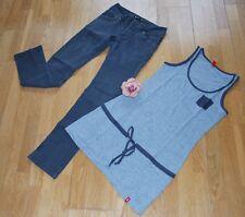 Bench Hüft Jeans Slim W27  & edc Longtop Gr. XS < Neuwert. Kombi <