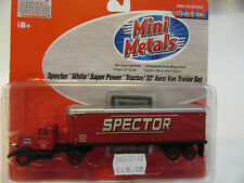 1:87 Classic Metal Works  USA White WC   Spector Motor Freight