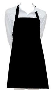 Cutest Black Vinyl Waterproof Apron Durable Lightweight Dish Wash Dog Grooming