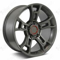 "20"" Gunmetal Wheels Fits Toyota Tundra Sequoia Land Cruiser"