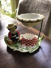 Partylite Candle Holder Aroma Melt Ladybug Picnic Teatime Warmer Essential Oil