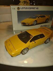 Autoart Millennium Edition Lotus Esprit V8 1/18
