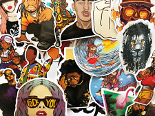 50 Hip Hop Music Rap Artists Graffiti Stickers For Laptop Phone Skateboard #CH