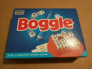 Boggle Game by Parker - Complete & Excellent Condition