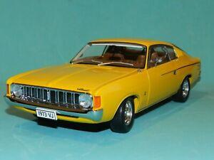 Carlectables 1/18 1973 VJ Chrysler Charger XL Sunfire Yellow MiB