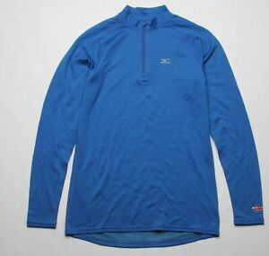 Mizuno Men Breath Thermo Half Zip (M) Blue 420977 5454