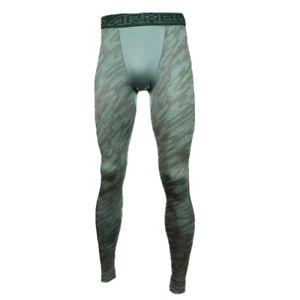 Under Armour HeatGear 2.0 Mens Printed Sports Training Compression Leggings L