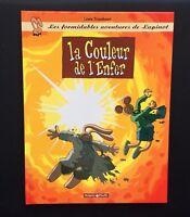 Les formidables aventures de Lapinot n°7. La couleur de l'enfer. 2000 EO