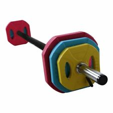 20KG Body Pump Barbell Set with Spring Collars