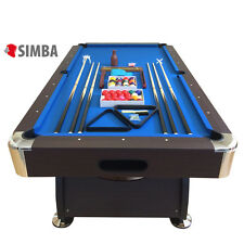 TAVOLO DA BILIARDO + ACCESSORI PER CARAMBOLA - SNOOKER BLUE billiard table italy