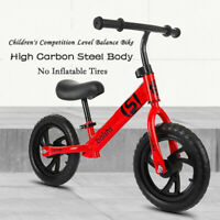 2-6 Years Old Children's Balance Car Bicycle Boys and Girls'Bicycle 12-inch US