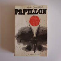 Henri Charrière 1969 Papillon littérature roman Robert Laffont France N7519