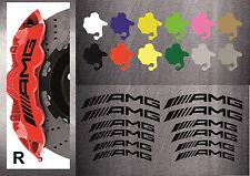 12 St. AMG Bremssattel Aufkleber Sticker Hitzebeständige 12 Farben Bg Mercedes 1