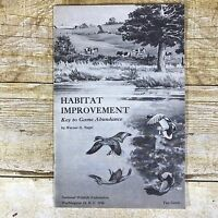Vintage Conservation Brochure National Wildlife Federation 1956 Game Habitat