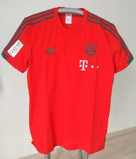 FC Bayern München T - Shirt Spieler 2018/19 mit Sponsoren, Matchworn, Teamwear