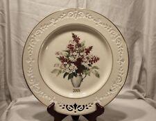2001 Lenox Colonial Bouquet Pennsylvania the Seventh Colony Plate
