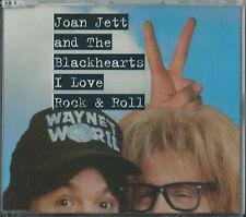JOAN JETT & THE BLACKHEARTS - I LOVE ROCK & ROLL 1994 GERMAN CD SINGLE WO232CD