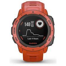 Reloj de Pulsera GPS Garmin instinto resistente al aire libre Rojo Fuego frecuencia cardíaca GLONASS 010-02064-02