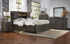 King Storage Hdbr /Footboard Bedroom Set 6Pcs Suvcl5131 A-America Sun Valley