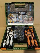 Halo Mega Bloks Collector's Case 29699 - 3 armors! - green case