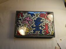 "Laptop Sleeve Case Pouch Cover For MacBook Air  11"" Colorful Keith Haring Print"