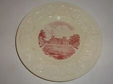 Vintage Wedgwood Stratford Hall, Lee Family Birthplace Plate-Flaws