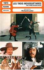 FICHE CINEMA : LES TROIS MOUSQUETAIRES - Reed,Welch,Lester 1973 Three Musketeers