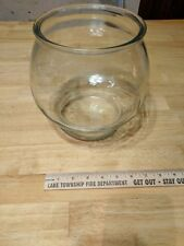Glass Drum Fish Bowl
