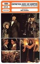 FICHE CINEMA : ENTRETIEN AVEC UN VAMPIRE - Pitt 1994 Interview With The Vampire