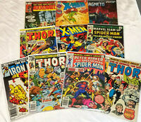 MARVEL Comics Lot Of 10 Random Selection Bronze/Copper/Modern NO DUPLICATES