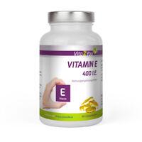Vita2You Vitamin E 400 IE - 180 Softgel Kapseln - Hochdosiert - Premium Qualität