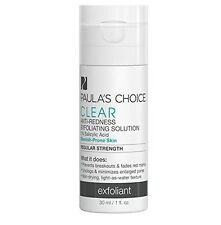 Paula's Choice Clear Regular Strength Anti Redness Exfoliating Solution New