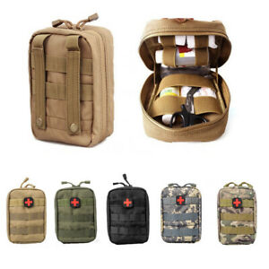 Universal Molle Tasche Erste Hilfe IFAK Tactical Medical First Aid Pouch BW Army