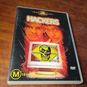 Hackers (Angelina Jolie, Jonny Lee Miller) DVD Region 4